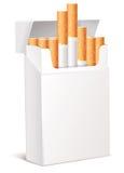 3d het pak van de sigaret Stock Foto