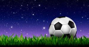 3d het voetbal van de voetbal Stock Foto's
