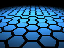 3D Hexagon Hex Hexagons Background. 3D hex hexagon hexagons background Stock Image