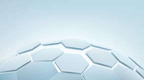 3d hexagons Royalty Free Stock Photography