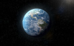 3D High Quality Earth stock photo