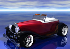 3D Hotrod illustration libre de droits