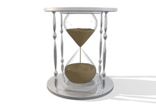 3D Hourglass Stock Photo