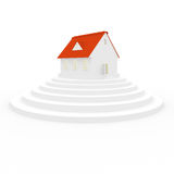 3d house Royalty Free Stock Photos