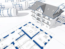 3d house Stock Photography