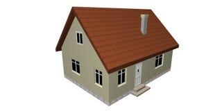 3D house Stock Photos