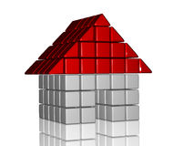 3d house Royalty Free Stock Images