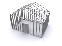 3D House Stock Photo