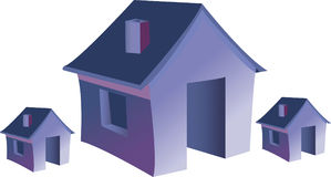 3D House Stock Image
