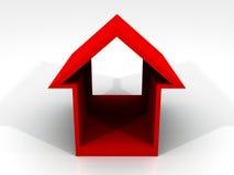 3D House Icon Royalty Free Stock Photos