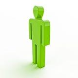 3d human figure Royalty Free Stock Image