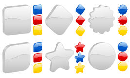 3D icon Stock Image