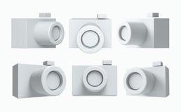 3D icon camera Stock Photos