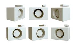 3D icon camera Stock Image