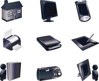 3d Icon Set Stock Photo