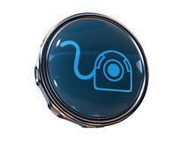 3d icon Web-Camera Stock Image