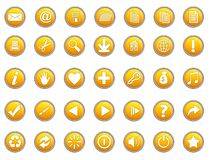 3d icons Royalty Free Stock Photography