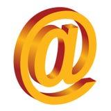 3d ikona internety Obrazy Royalty Free