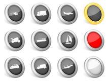 3d ikona transport ilustracja wektor