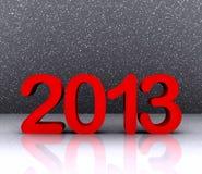3d illustratie - 2013 Stock Afbeeldingen