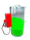 3d illustratie: batterij, Stock Fotografie