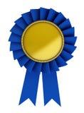 3d illustratie van blauw lint Royalty-vrije Stock Foto's