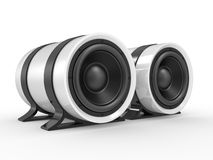 3d illustration of audio speaker Royalty Free Stock Photos