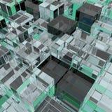 3d illustration basic geometric shapes Royalty Free Stock Photo