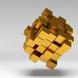 3d illustration basic geometric shapes Royalty Free Stock Photo