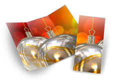 3D Illustration of Christmas brochure Royalty Free Stock Photo