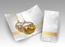 3D Illustration of Christmas brochure Royalty Free Stock Photo