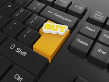 3d illustration of computer technologies. Stock Photos