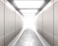 3D Illustration of a Corridor Royalty Free Stock Photo