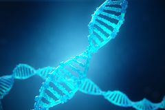 Free 3D Illustration Helix DNA Molecule With Modified Genes. Correcting Mutation By Genetic Engineering. Concept Molecular Royalty Free Stock Image - 107603196