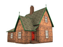 3D illustration of house Stock Photo
