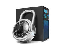 3d illustration: Information Security. Royalty Free Stock Photos