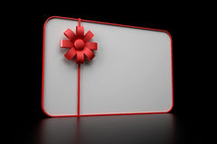 3d Illustration Of Gift Card Stock Image