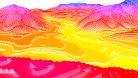 Free 3D Illustration Of Terrain Surface Structure Stock Photos - 70422743