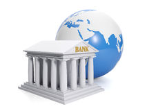 3d illustration: Online bank. Royalty Free Stock Photos