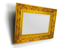 3d illustration of picture frame Royalty Free Stock Image
