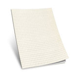 3D Illustration of Squared Notebook, Stock Photos