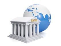 3d ilustracja: Online bank. Zdjęcia Royalty Free