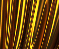 3d image of gold fabric texture Stock Image