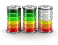 Free 3d Image Of Batteries Stock Photos - 90023673