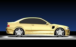 3D Image Of BMW M3 Royalty Free Stock Images