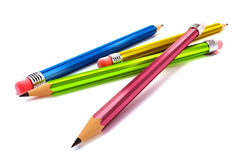 3d Image of Pencils Royalty Free Stock Image