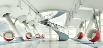 3d interior vector illustration