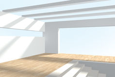 3d interior. Royalty Free Stock Image