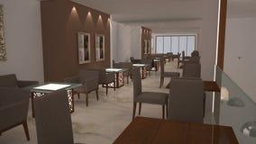 3D Interior Royalty Free Stock Photo
