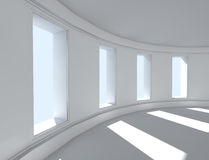 3d interior architecture. 3d architecture of empty interior Royalty Free Stock Images
